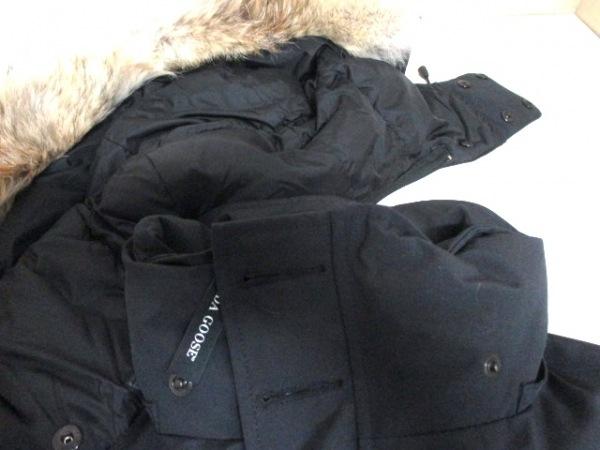 カナダグース ダウンジャケット S/P メンズ ラッセル 2301JM 黒 7