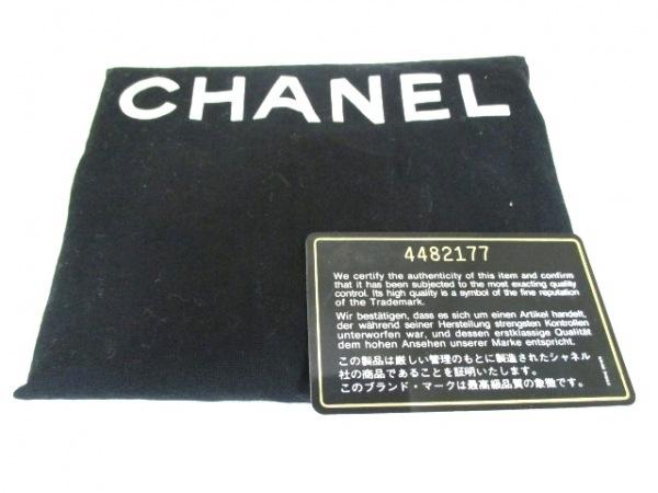シャネル バニティバッグ キャビアスキン 黒 ココマーク CHANEL 9