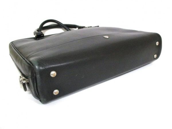 シャンボールセリエ ビジネスバッグ 黒 レザー CHAMBORD SELLIER 4