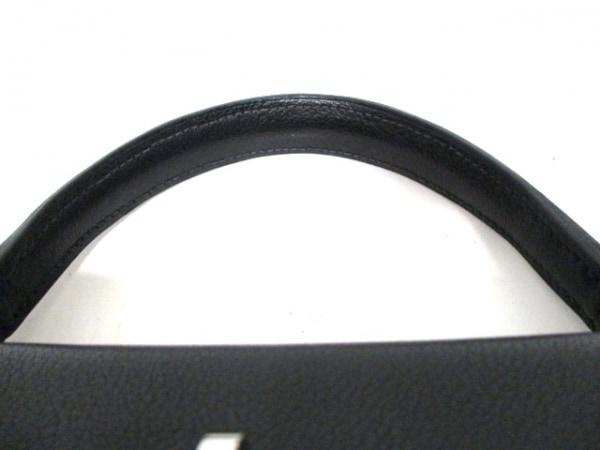 エルメス ハンドバッグ ケリー32 黒 シルバー金具/内縫い HERMES 5