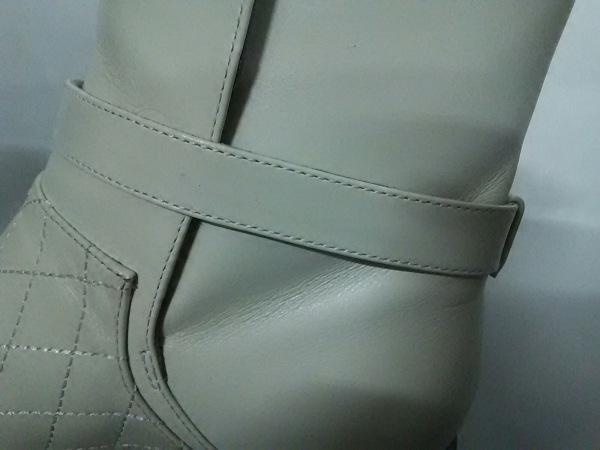 シャネル ショートブーツ 35 C レディース 美品 マトラッセ 8