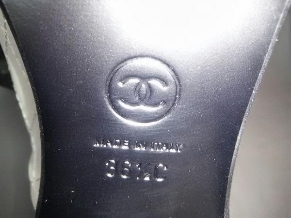 シャネル ショートブーツ 36 1/2 C レディース 美品 マトラッセ 7