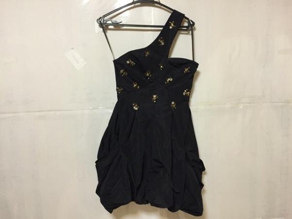 ビーシービージーマックスアズリア ドレス S レディース 美品 黒 0