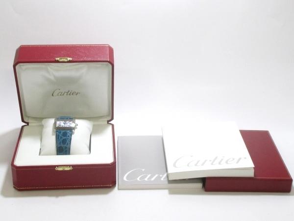 カルティエ 腕時計 タンクミニディヴァン W6301455 レディース 8