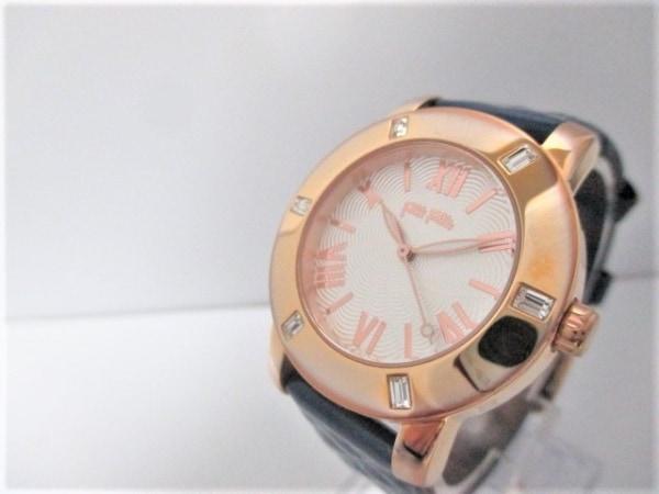 フォリフォリ 腕時計 美品 WF1B005SP レディース 白 0