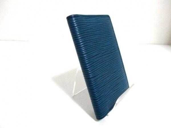 ルイヴィトン カードケース エピ 美品 M61821 ブルーマリーヌ 2