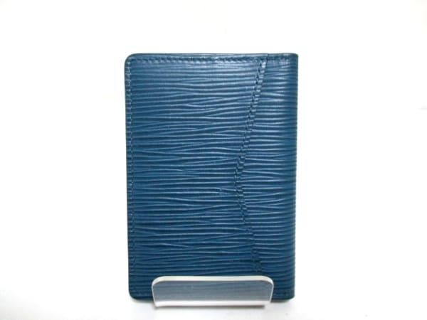 ルイヴィトン カードケース エピ 美品 M61821 ブルーマリーヌ 3