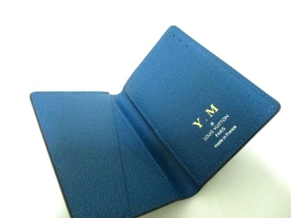 ルイヴィトン カードケース エピ 美品 M61821 ブルーマリーヌ 4