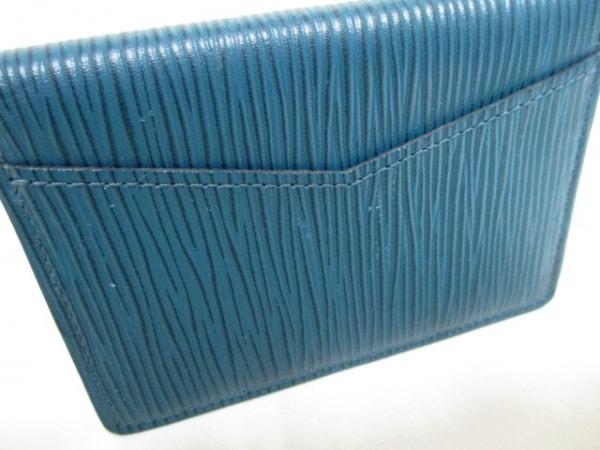 ルイヴィトン カードケース エピ 美品 M61821 ブルーマリーヌ 7