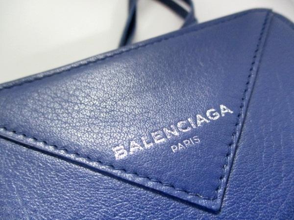バレンシアガ 2つ折り財布 美品 ペーパービルフォールド 371662 8