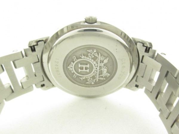 HERMES(エルメス) 腕時計 クリッパー CL6.720 メンズ アイボリー 3
