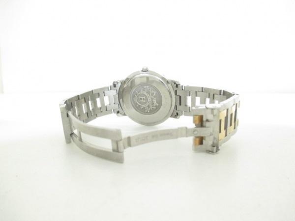 HERMES(エルメス) 腕時計 クリッパー CL6.720 メンズ アイボリー 5