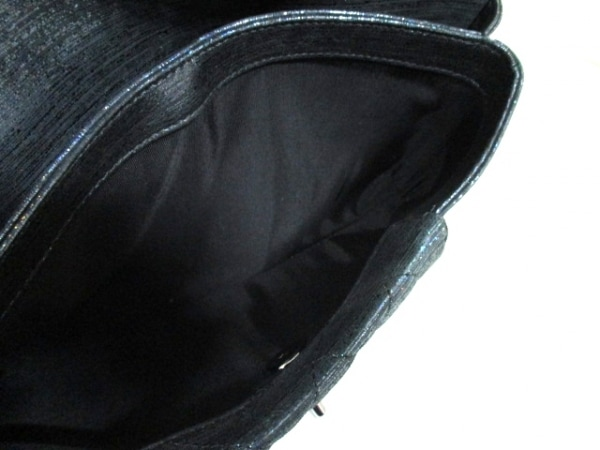 シャネル クラッチバッグ 美品 マトラッセ A98558 シルバー金具 5