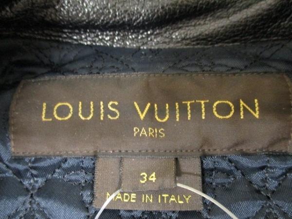 ルイヴィトン ブルゾン 34 レディース 黒 LOUIS VUITTON 3