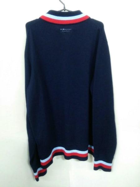バーバリー 長袖セーター XXXL メンズ 新品同様 ジップアップ 3