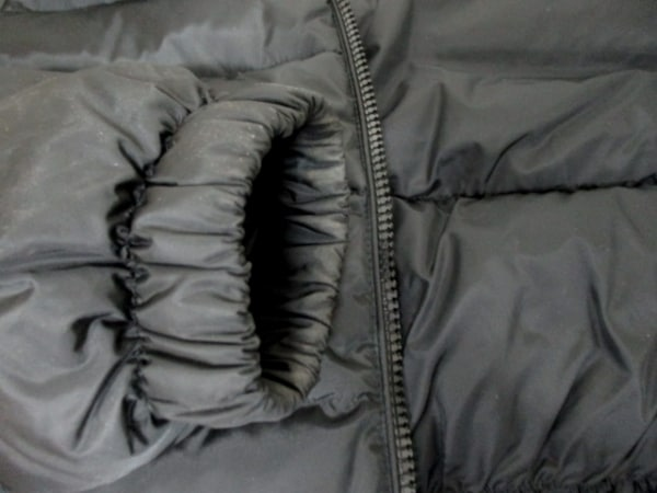 モンクレール ダウンジャケット 4 レディース 美品 黒 MONCLER 5