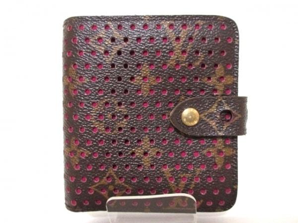 ルイヴィトン 2つ折り財布 モノグラムペルフォ M95188 0