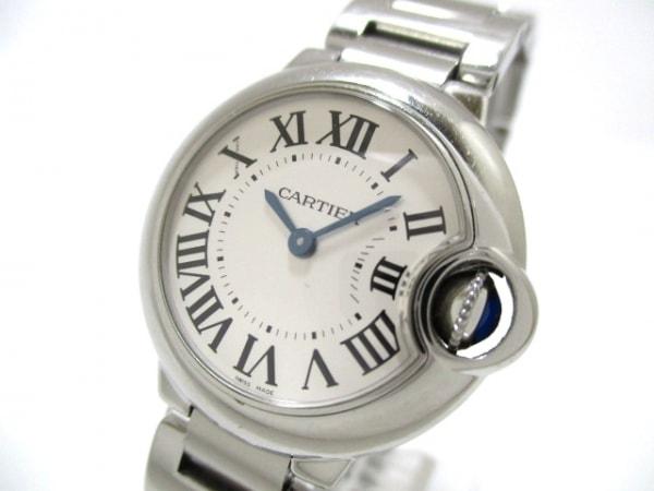 カルティエ 腕時計 バロンブルーSM W69010Z4 レディース SS 0