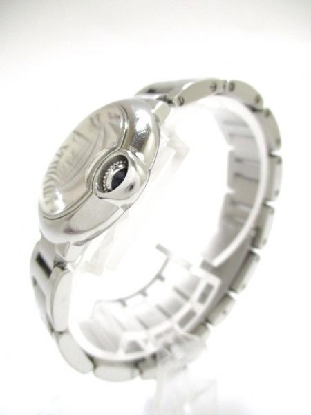 カルティエ 腕時計 バロンブルーSM W69010Z4 レディース SS 2