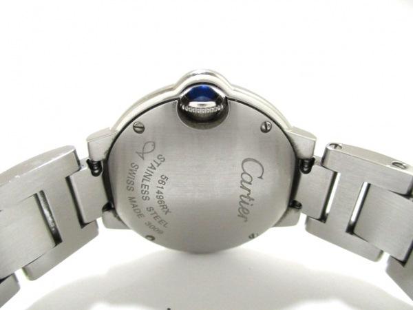 カルティエ 腕時計 バロンブルーSM W69010Z4 レディース SS 3