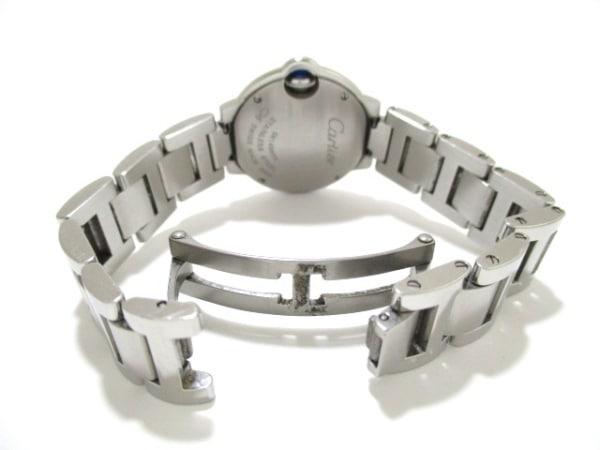 カルティエ 腕時計 バロンブルーSM W69010Z4 レディース SS 5