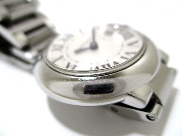 カルティエ 腕時計 バロンブルーSM W69010Z4 レディース SS 8