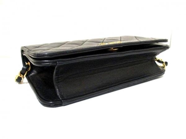 シャネル ショルダーバッグ 美品 ミニマトラッセ A03571 黒 4