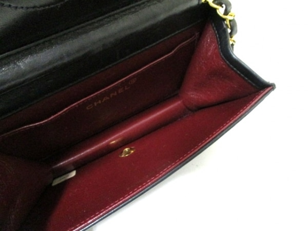 シャネル ショルダーバッグ 美品 ミニマトラッセ A03571 黒 5