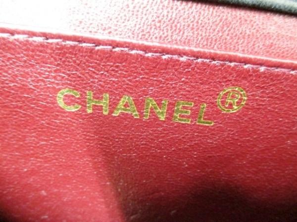 シャネル ショルダーバッグ 美品 ミニマトラッセ A03571 黒 6