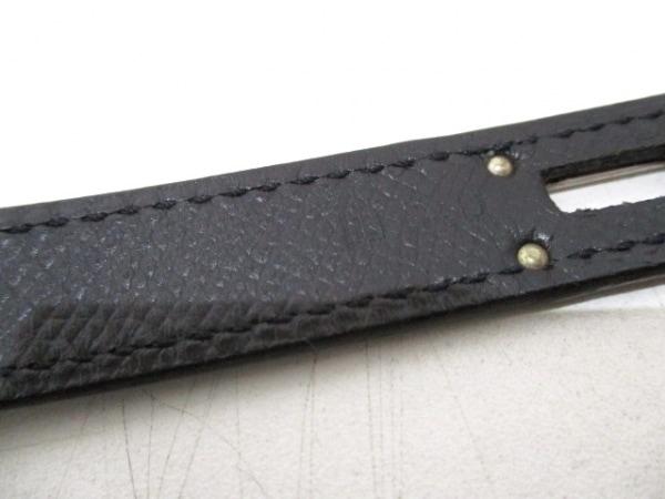 エルメス ビジネスバッグ ケリーデペッシュ34 黒 シルバー金具 4