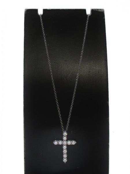 ティファニー ネックレス 美品 クロスペンダント (スモール) 2