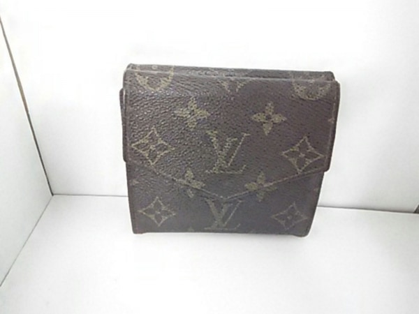 ルイヴィトン Wホック財布 モノグラム ポルトモネビエ 190 2