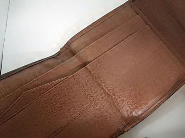 ルイヴィトン Wホック財布 モノグラム ポルトモネビエ 190 3