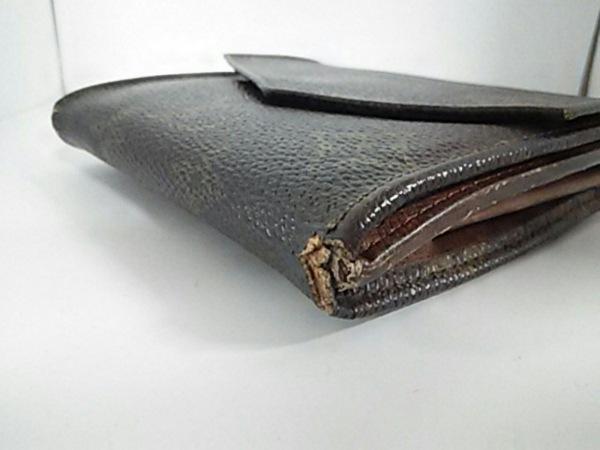 ルイヴィトン Wホック財布 モノグラム ポルトモネビエ 190 6