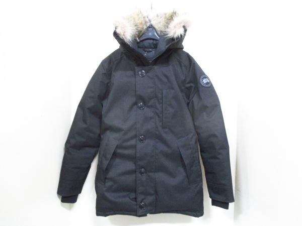 カナダグース ダウンジャケット XS メンズ 美品 クレストン 黒 0