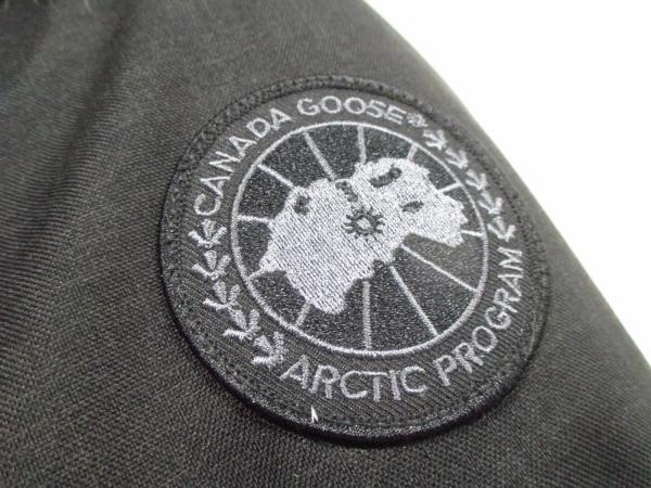 カナダグース ダウンジャケット XS メンズ 美品 クレストン 黒 7