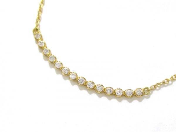 アーカー ネックレス 美品 ビリーブユー K18YG×ダイヤモンド 0