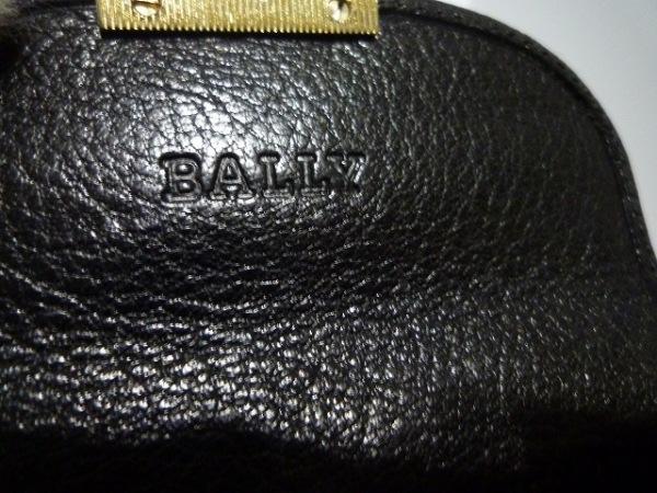 バリー 名刺入れ 黒 レザー BALLY 5