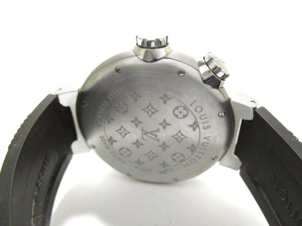ヴィトン 腕時計 タンブール ダイビング Q1031 メンズ 黒 3