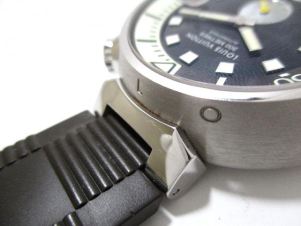 ヴィトン 腕時計 タンブール ダイビング Q1031 メンズ 黒 6