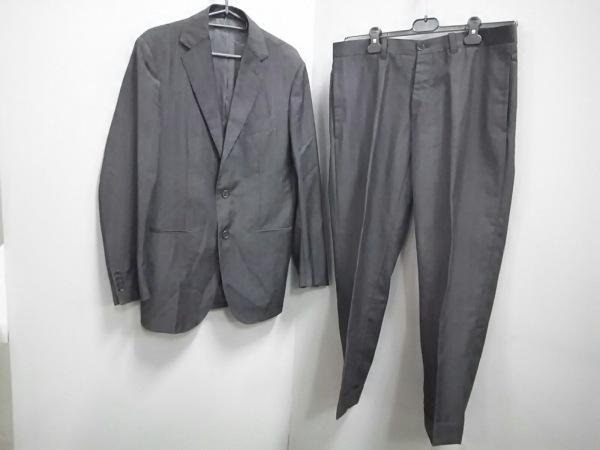 スティレラティーノ シングルスーツ メンズ 美品 黒×ブラウン 0