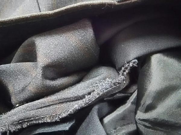 スティレラティーノ シングルスーツ メンズ 美品 黒×ブラウン 5