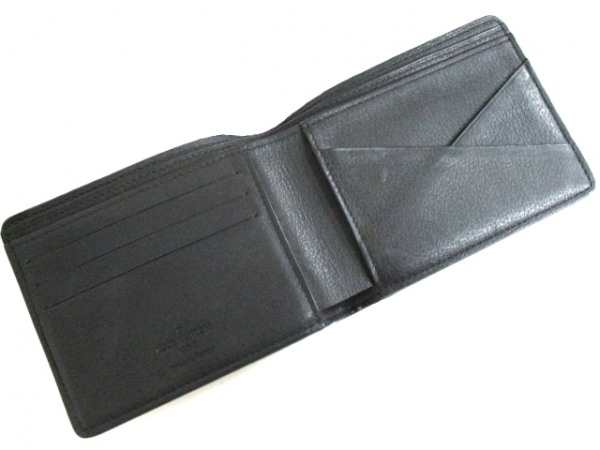 ルイヴィトン 札入れ キュイールトリヨン 美品 M58189 黒 3