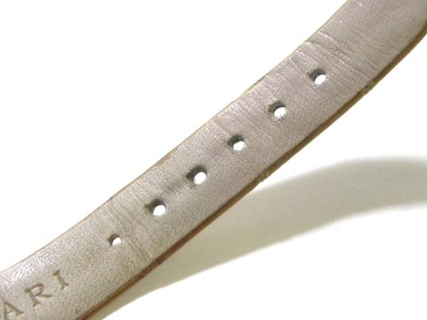 ブルガリ 腕時計 アショーマ AA31G レディース 革ベルト/K18YG 7