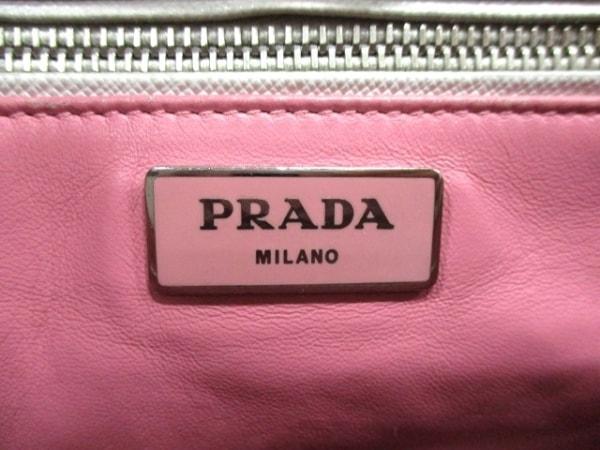 プラダ ハンドバッグ - B2863K 白×ピンク バイカラー PRADA 6
