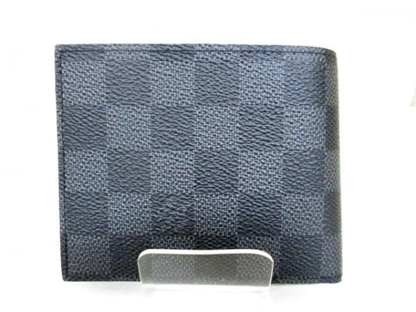 ルイヴィトン 2つ折り財布 ダミエグラフィット 美品 N41635 0