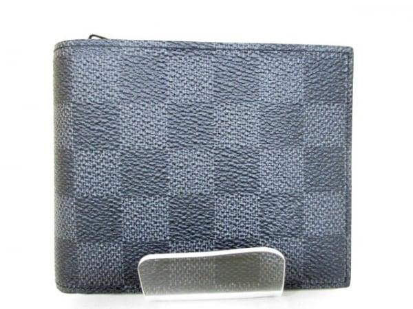 ルイヴィトン 2つ折り財布 ダミエグラフィット 美品 N41635 2