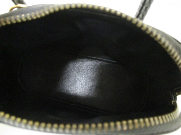 エルメス ハンドバッグ ミニミニボリード 黒 リザード HERMES 5