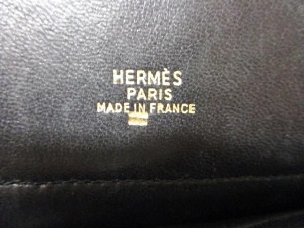 エルメス ハンドバッグ ミニミニボリード 黒 リザード HERMES 6