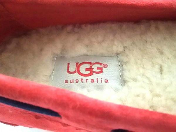 UGG(アグ) スリッポン 23 レディース 1003739 レッド×ブルー リボン 5